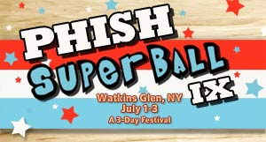 Unofficial Website for Phish's Super Ball IX Festival