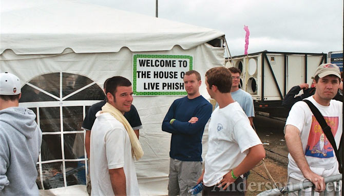 The House of Live Phish Tent