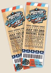 Phish SuperBall IX Tickets